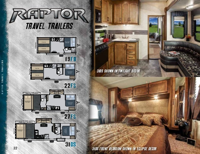2013 Keystone Raptor Toy Hauler