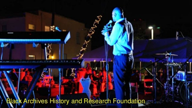 Black Archives History and Research Foundation