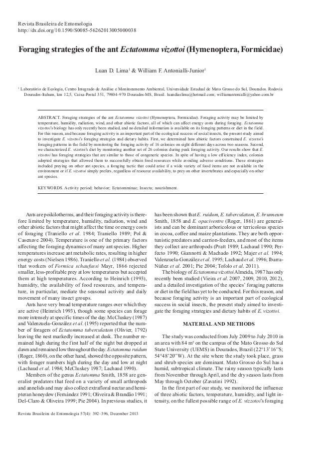 Revista Brasileira de Entomologia 57(4): 392–396, December 2013 Revista Brasileira de Entomologia http://dx.doi.org/10.159...