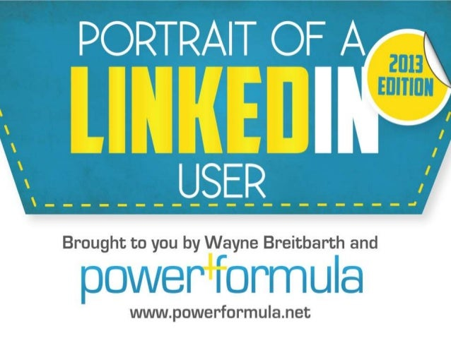 2013 LinkedIn User Survey Infographic