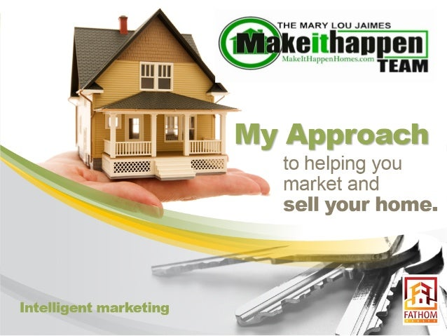 Make It Happen Homes Listing Presentation for North Texas Real Estate