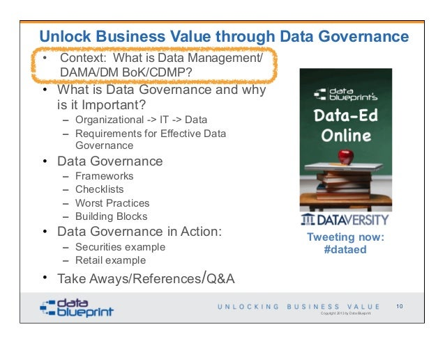 Data ed unlock business value through data governance malvernweather Gallery