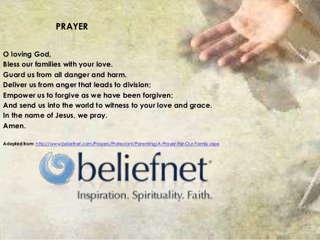 Beliefnet Prayer To Love God
