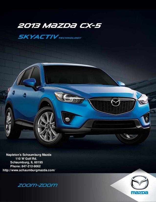 2013 Mazda CX-5 Brochure IL | Schaumburg Mazda Dealer