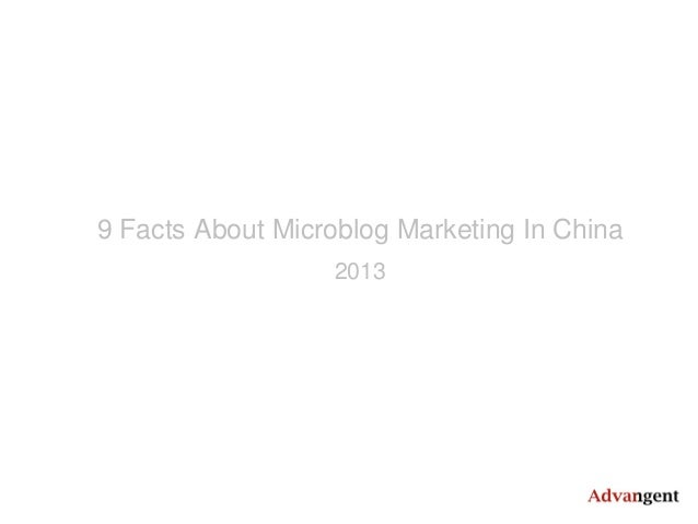 9 Facts About Microblog Marketing In China 2013