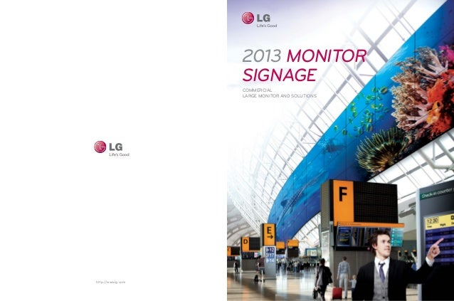 2013 MONITOR                    signage                    COMMERCIAL                    LARGE MOnITOR AND SOLUTIONShttp:/...