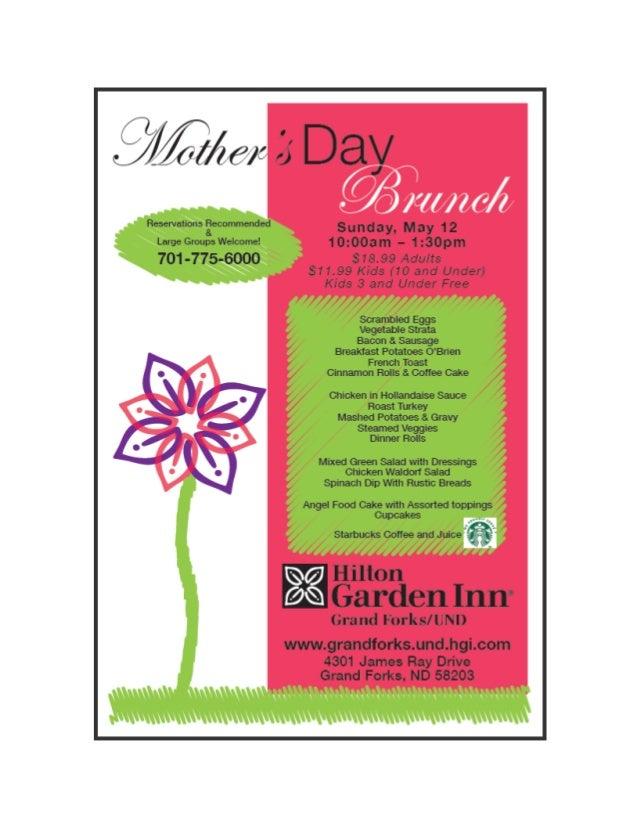 Hilton Garden Inn Grand Forks / UND Mother\'s Day Ad