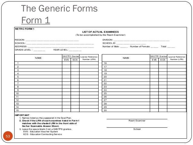 2013 nat test admin guidelines qc