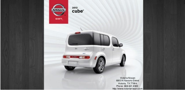 2013 nissan cube brochure tx victoria tx nissan dealer. Black Bedroom Furniture Sets. Home Design Ideas