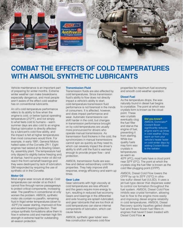 2013 november combat_the_effects_of_cold_temperatures_with_amsoil_synthetic_lubricants