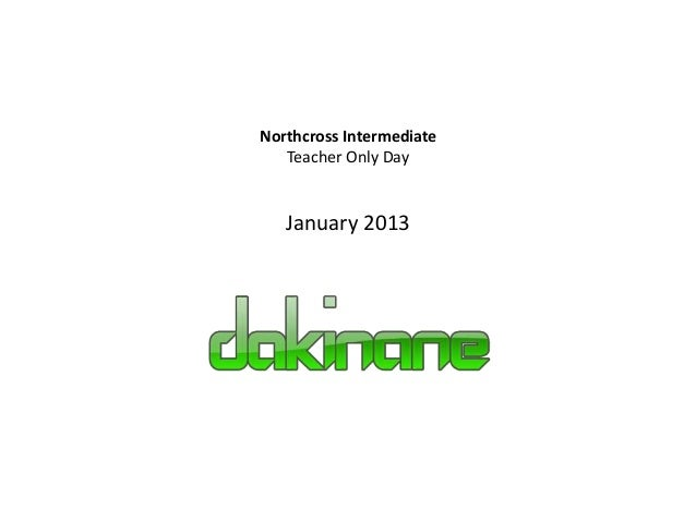 Northcross Intermediate   Teacher Only Day   January 2013