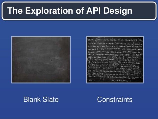 API design principles for accelerated development Slide 2