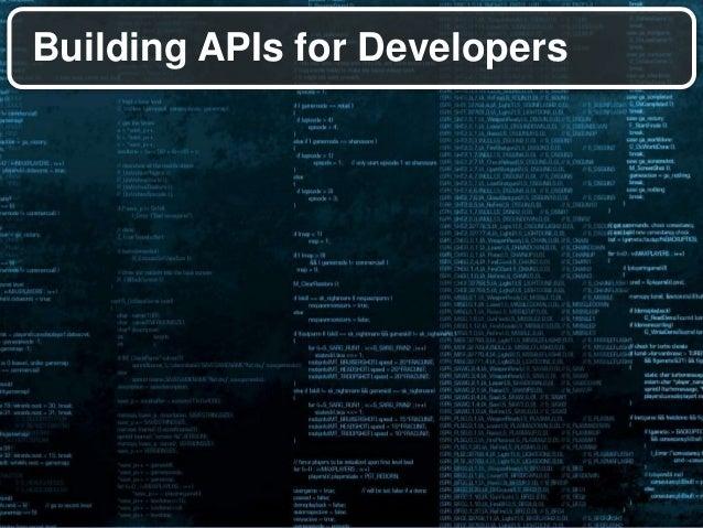 API design principles for accelerated development Slide 3