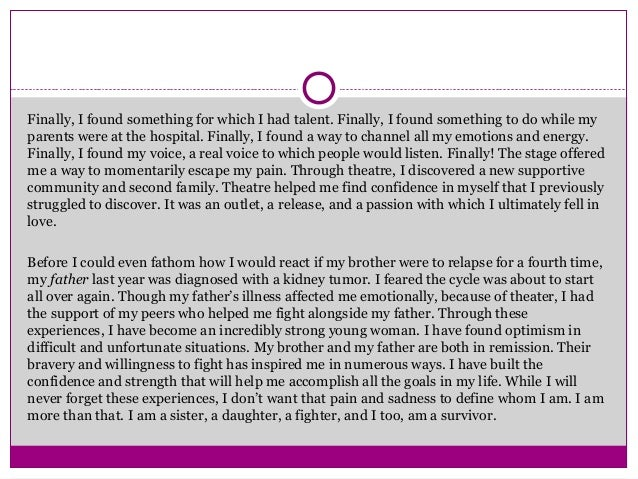 great college essay