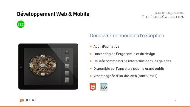 Développement Web & MobileB2C                             Découvrir un meuble d'exception                             •   ...