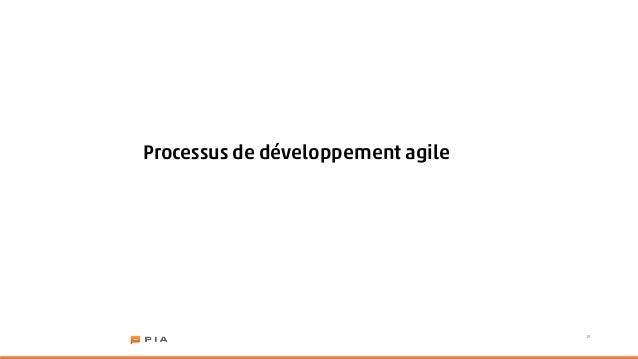 Processus de développement agile                                   19