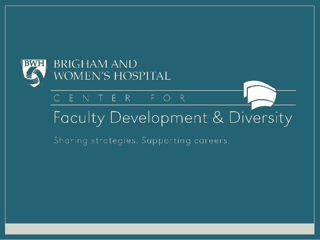 2013 Center for Faculty Development & Diversity Pillar Awards