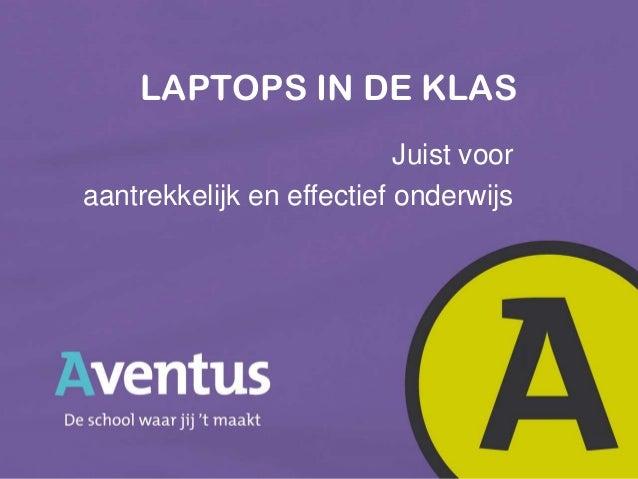 2013 pp laptops in de klas