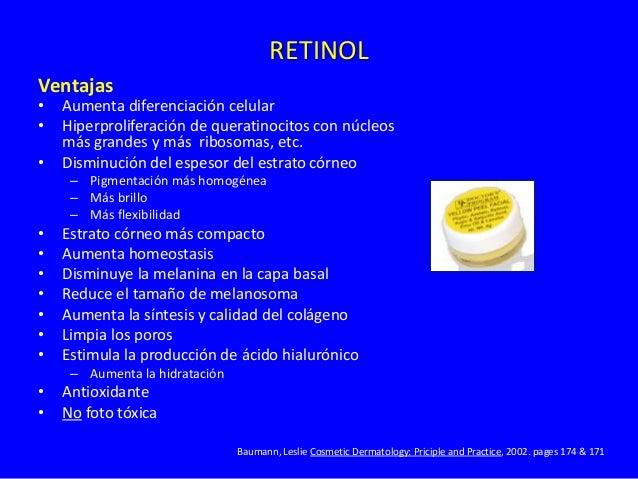 Acido Glicólico Ventajas • Aumenta renovación celular • Disminuye el estrato córneo – Pigmentación mas homogénea – Mayor b...