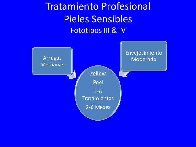Tratamiento Professional Pieles Sensibles Fototipos III & IV Envejecimiento Severo  Arrugas Profundas Yellow Peel 6-12 Tra...