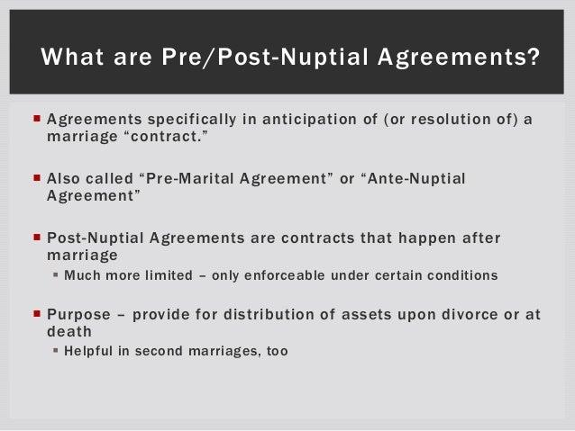 Postnuptial Agreement Form Erkalnathandedecker