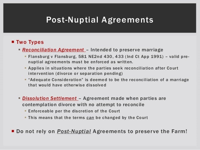 Postnuptial Agreement Www Picswe Com