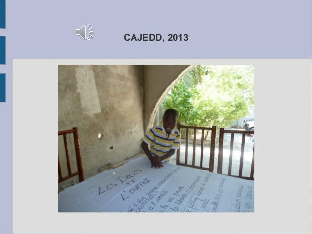 CAJEDD, 2013