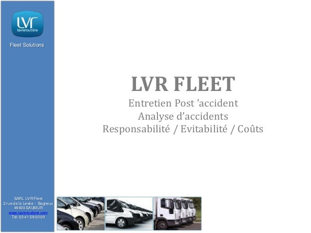 Fleet Solutions                                    LVR FLEET                                   Entretien Post 'accident   ...