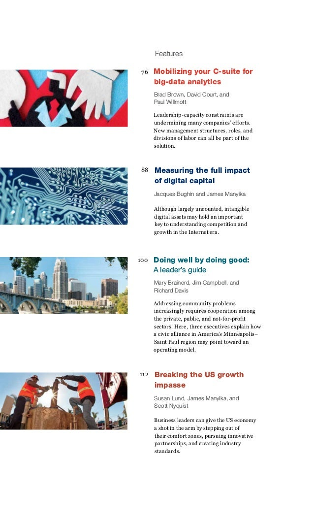 2013 q4 McKinsey quarterly - Strategy to beat the odds