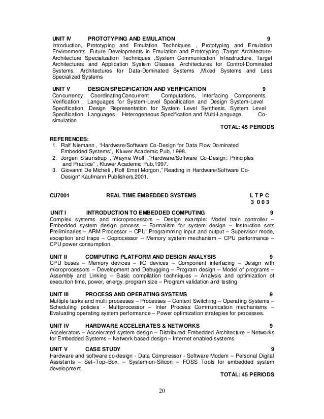 2013 regulation syllabus for m e vlsi design
