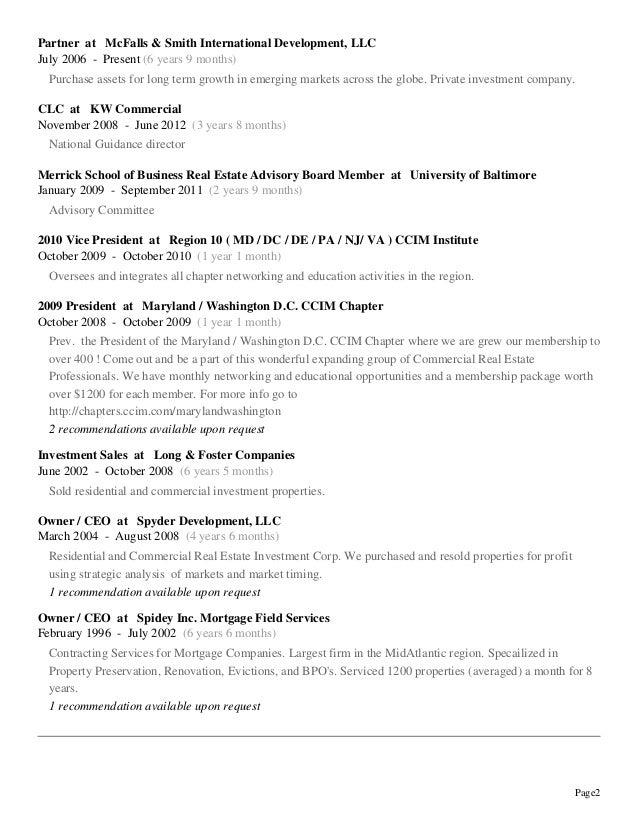 2013 resume and bio
