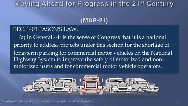 2013 Jason's Law Safe Truck Parking and Focus Group Presentation Slide 3