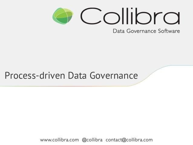 Process-driven Data Governance