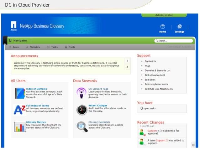 DG in Cloud Provider
