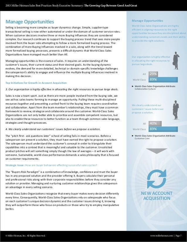 MindsMore Sales Summit II 2013 sbps executive summary – Best Executive Summary