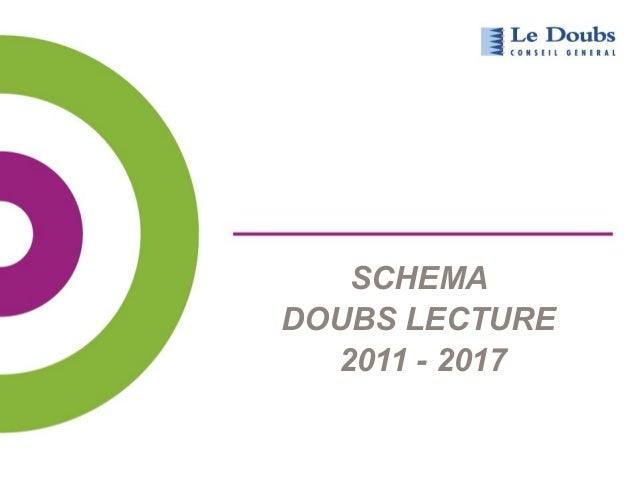 SCHEMA  DOUBS LECTURE  2011 - 2017