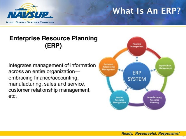 Navy Enterprise Resource Planning Erp The Journey Continues