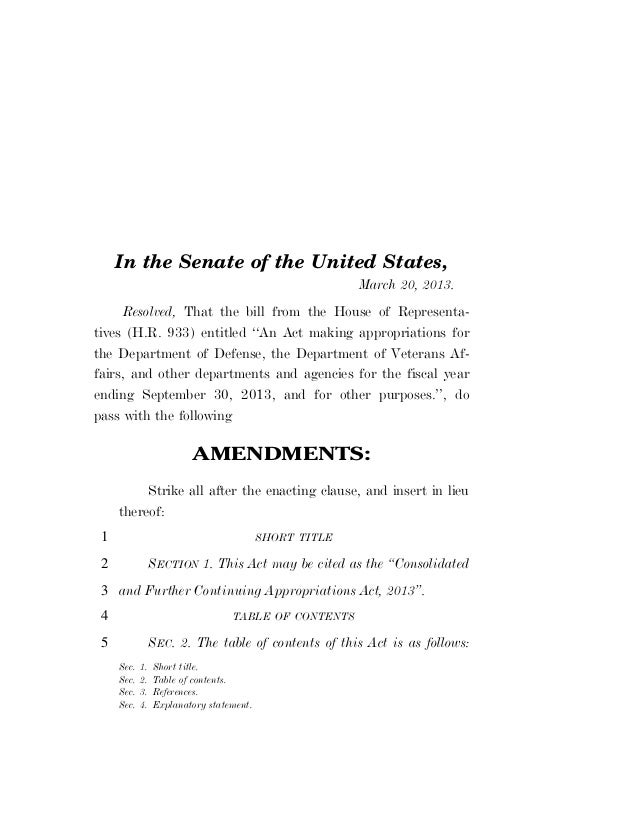 In the Senate of the United States,                                                        March 20, 2013.      Resolved, ...