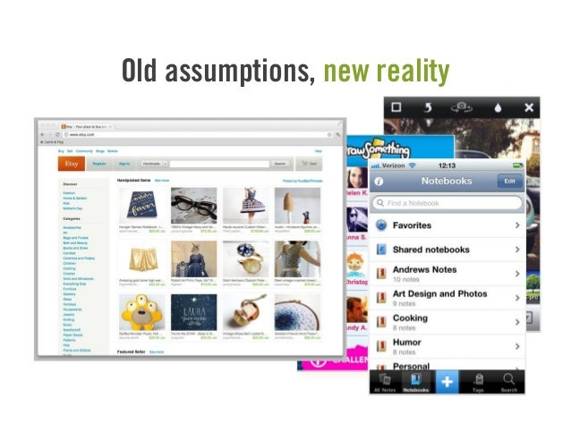 Old assumptions, new reality
