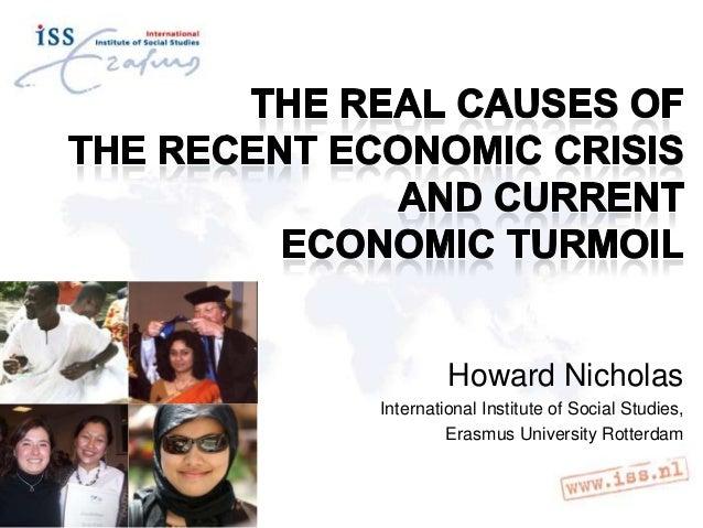 Howard Nicholas International Institute of Social Studies, Erasmus University Rotterdam
