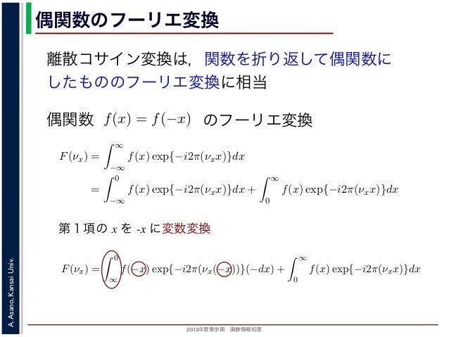 フーリエ 変換 例題