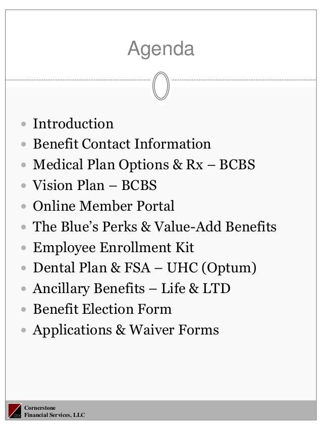 2013-2014 3CSI Employee Benefits