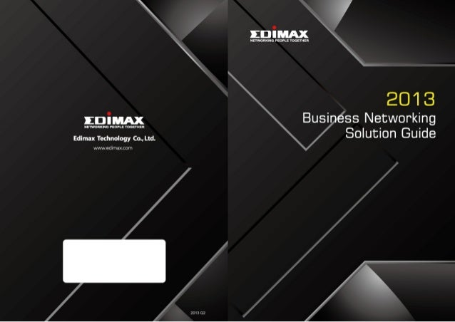 26 Years of Networking Experience With vast experience and deep expertise in network communications, Edimax has been commi...