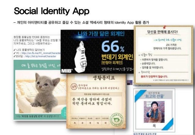 Social Identity App- 개인의 아이덴티티를 공유하고 즐길 수 있는 소셜 액세사리 형태의 Identity App 활용 증가