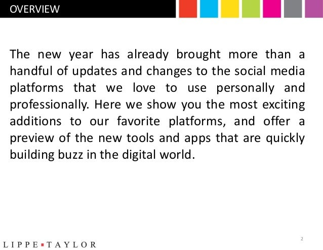 What's New and Exciting In Social Media (Q1 2013) Slide 2