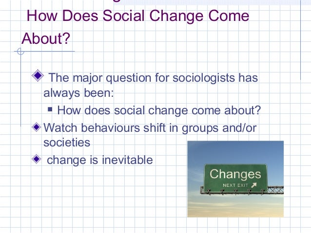 sociology how social insitution affect Sociological perspective on health  medicine is the social institution that  sociology assumes that a functioning society depends upon healthy.