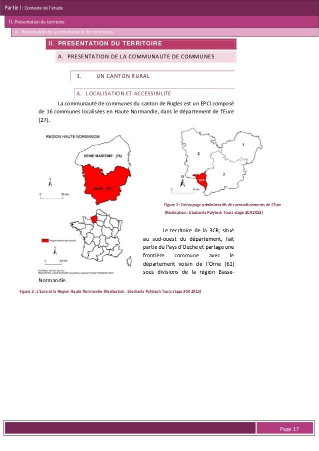 Partie I: Contexte de l'etude II. Présentation du territoire A . Présentation de la communauté de communes  2. Les extensi...