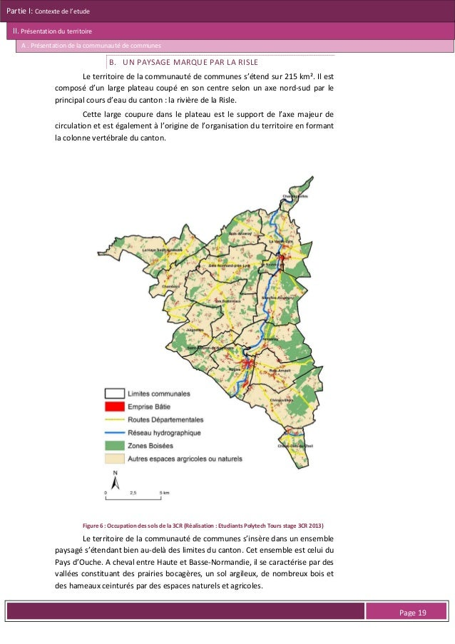 Partie I: Contexte de l'etude II. Présentation du territoire A . Présentation de la communauté de communes  LE FONCTIONNEM...