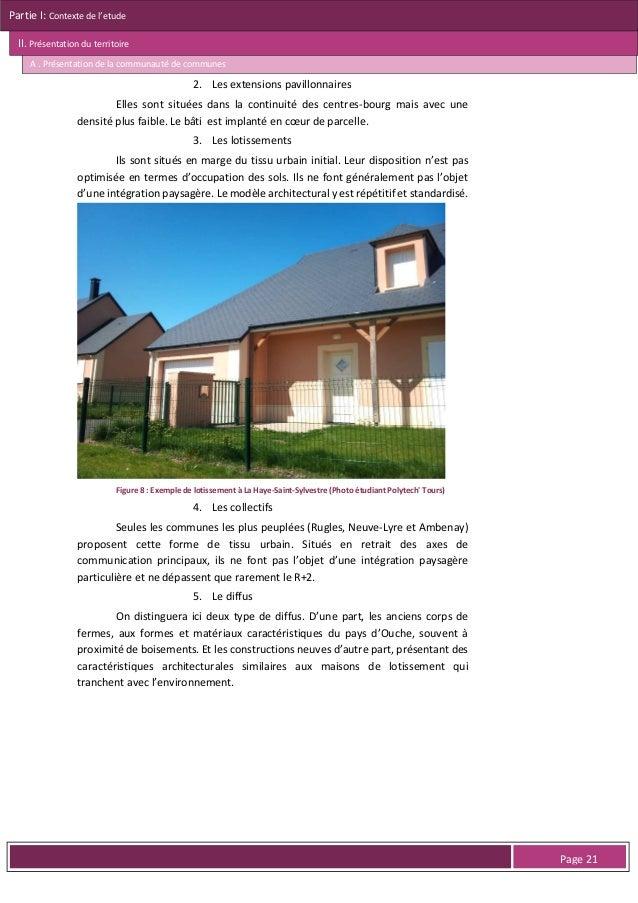 Partie I: Contexte de l'etude II. Présentation du territoire A . Présentation de la communauté de communes  Le seul établi...