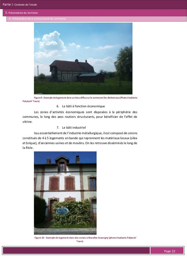 Partie I: Contexte de l'etude II. Présentation du territoire A . Présentation de la communauté de communes  L'EPCI A. SITU...